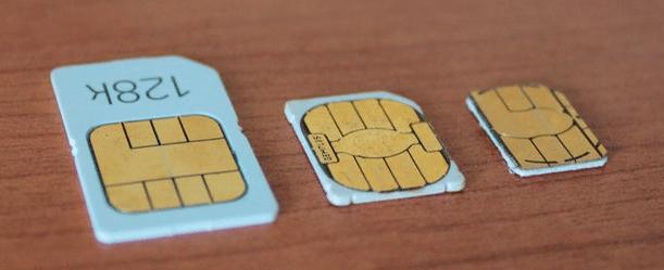 sečenje sim kartice