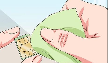 čišćenje sim kartice