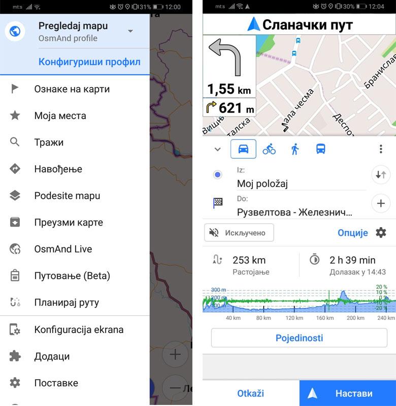 najbolja android navigacija