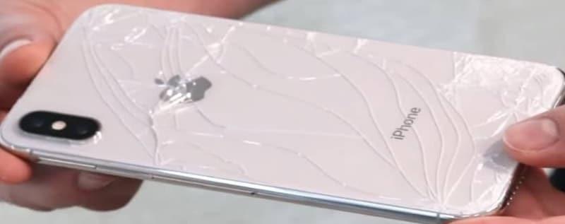 Zamena zadnjeg stakla iPhone 8
